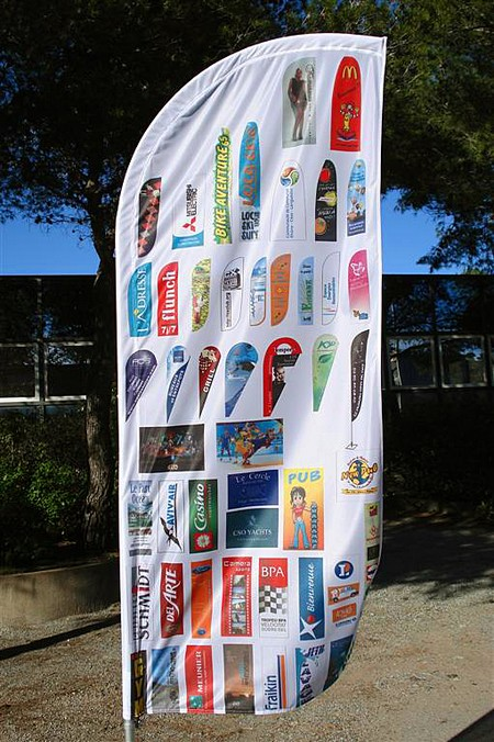 drapeau publicitaire - beach flag - voile publicitaire imprimé