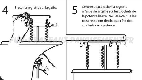 potence de candélabre - notice de montage partie haute